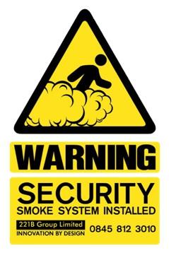 warning security fog