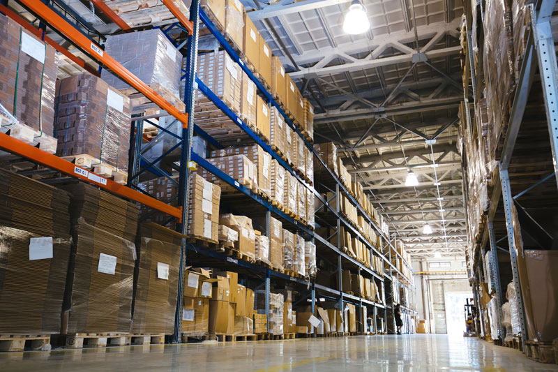Security fog system for warehouse