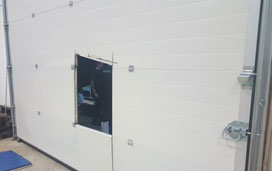 Security fog system for Trade counter sales