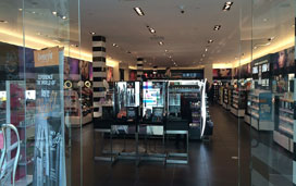 Security fog system for perfume retailers
