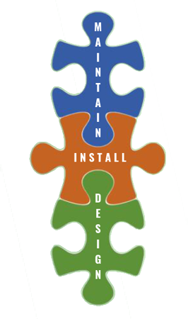 maintain, install, design